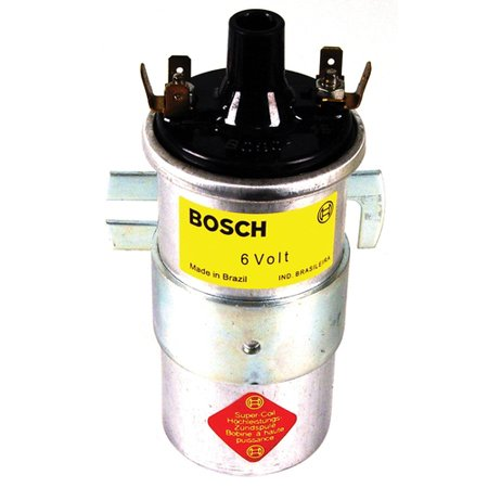 Bosch blue coil, w/bracket 6Volts