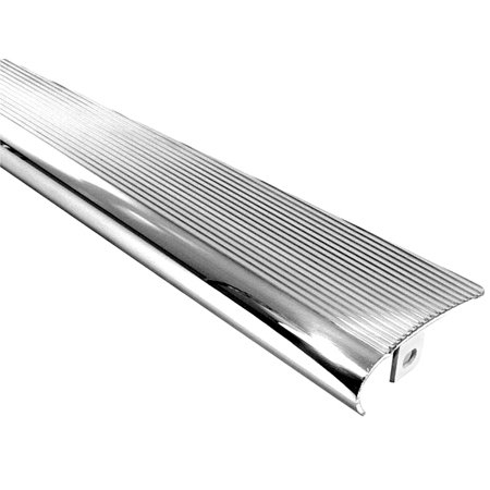 BILLET LOOK RUNNING BOARDS FULLY POLISHED. PAIR