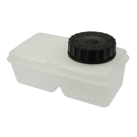 Reservoir for dual circuit bug or sb Brake master cylinder top fitting