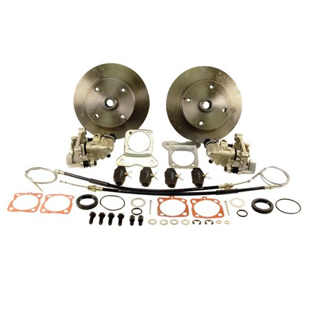 Rear Disc Brake Kits w/E-Brake 4/130 SWING THRU 67