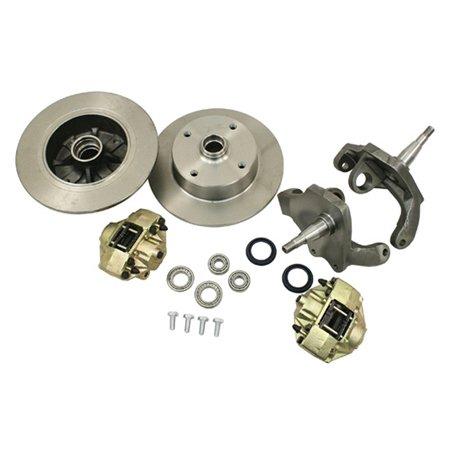 VW BEETLE FRONT Drop Spindle DISC BRAKE KIT, LINK PIN 4/130