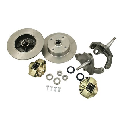 FRONT DROP SPINDLE DISC BRAKE KIT, 5/130, LINK-PIN