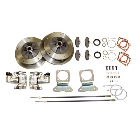 BOLT-ON REAR DISC BRAKE KIT W/ E-BRK 5/205