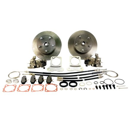 VW BEETLE Rear Disc Brake Kit, 5/130, w/ E-Brake