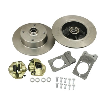BOLT-ON BALL JOINT, FRONT DISC BRAKES KIT, 5/130