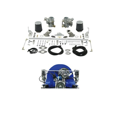 Weber ICT 34mm Dual Carb Kit - Type 1 Single Port