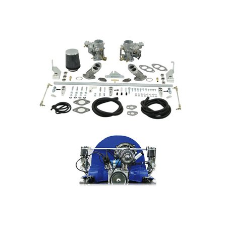 ICT 34mm Dual Weber Carb Kit - Type 1 Dual Port