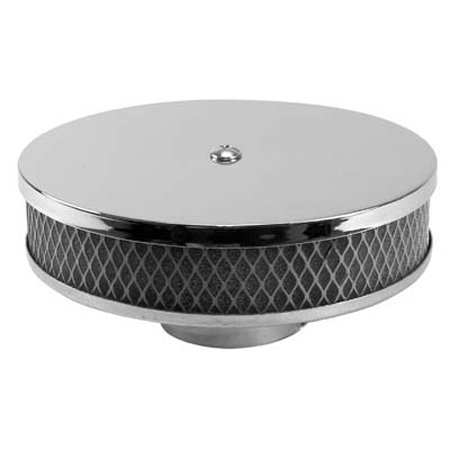 Round Chrome Air Cleaner Stock VW Carb
