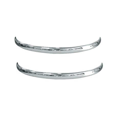 Bumper Chrome bug Cal look blade Front & Back