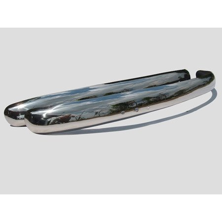 BUMPER BARS STAINLESS STEEL EU STYLE BLADE