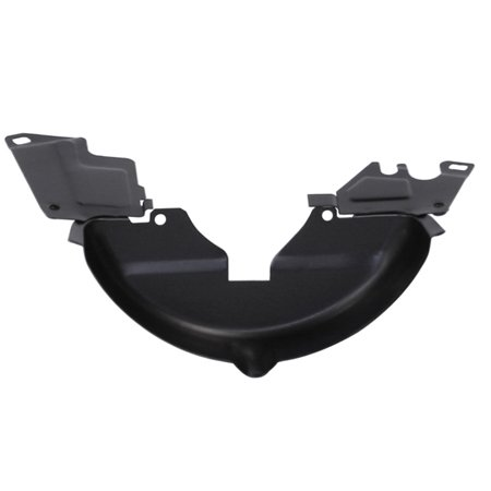 VW Engine Breast Plate, Black