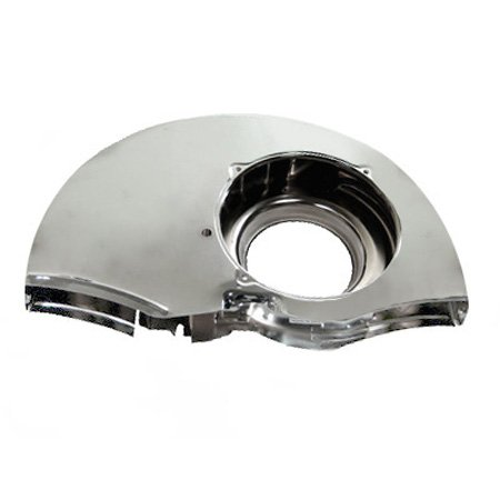 Doghouse Fan Shroud, Chrome, Without Ducts
