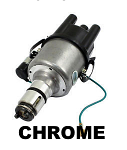 Bosch Style 009 Centrifugal Advance Distributor CHROME