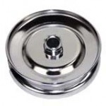 Alternator or generator pulley 12V chrome