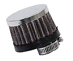OIL BREATHER FILTER with chrome