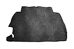 trunk lining carpet bug 68-78 & 68-70 bug convertible black loop