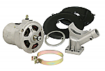 Alternator conversion kit 55 amp (gen to alt) bug ghia etc Black kit