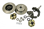 "Front Disc Brake Kit, Ball Joint, Blank Rotors with 2.5"" Drop"