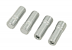 Wheel stud 14mm 1/2-20 close 4 or early bus wide 5 screw in stud set of 4
