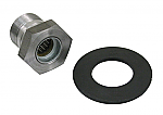 Flywheel gland nut & HD washer 36mm