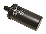 HIGH OUTPUT COIL  BOSCH, OIL FILLED, 12-VOLT, BLACK