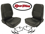 Race-Trim low Back Seats L & R