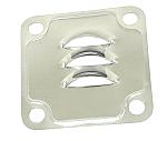 Deflector plate, Gen/Alt Stand