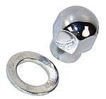 Alternator or generator Pulley Nut & Spacer for billet pulley