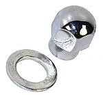 Alternator or generator Pulley Nut & Spacer for billet pulley