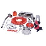 SUPER COLOR & CHROME KIT, RED