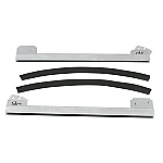 Window sash set for use with 1 pc windows