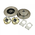 Disc brake kit front stock w/out spindle link pin 5/130