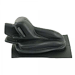 Hand brake boot 65 on BLACK