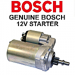 Starter, 12 Volt, New, GENUINE Bosch