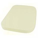 Seat Foam cushion backrest front L or R bug 58-64 & 68-72