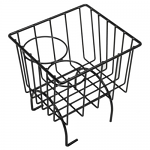 Vw Bug Center Hump Black Storage Wire Basket - Bug-Ghia-Type 3-Vw Thing