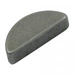 Alternator or generator pulley woodruff key