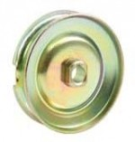Alternator or generator pulley 12V gold/zinc