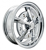"Raider Alloy Wheels - 17"" All CHROME 5x 205 (set of 4)"