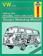VW Repair Manual Tranporter Type 2, 68-79 1600cc