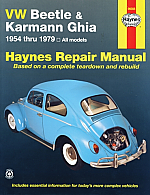 VW Repair Book Haynes Bug & Ghia