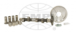 """VW 24 Series Camshaft Kit with J36072 Cam Followers .430"""" Lift, .284 Duration, Hot Street/Off Road"""