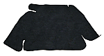 trunk lining carpet bug 60-67 & bug convertible black loop