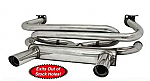 Stainless Steel merged header 2 tip GT Exhaust Bug & Ghia