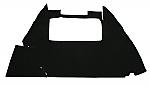 trunk lining carpet bug 54-59 1/2 & bug convertible black loop