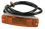 Turn signal / Blinker assembly for front bumper bar