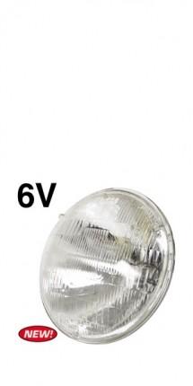 "7"" Sealed Beam Hi/Low Bulb 6v each"