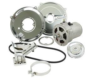 Alternator conversion kit 55 amp (gen to alt) bug ghia etc chrome kit
