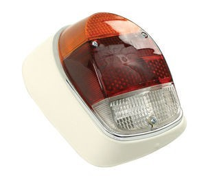Taillight assembly Left bug 68 to 70 Euro style