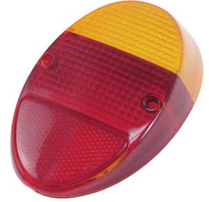 Tail light lens L or R bug 62-67 Euro style EACH